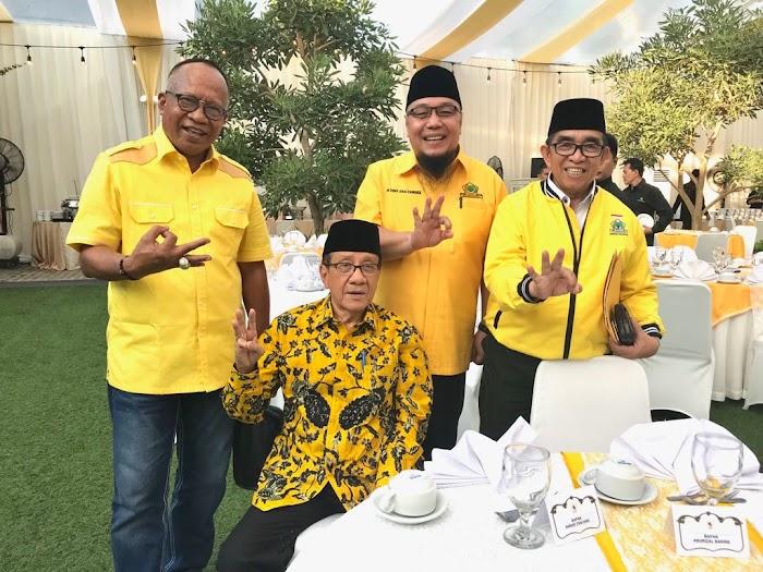 Jajaran DPD Golkar Lampung Hadiri Silatnas dan Bukber, Ini Pesan Ketua Umum