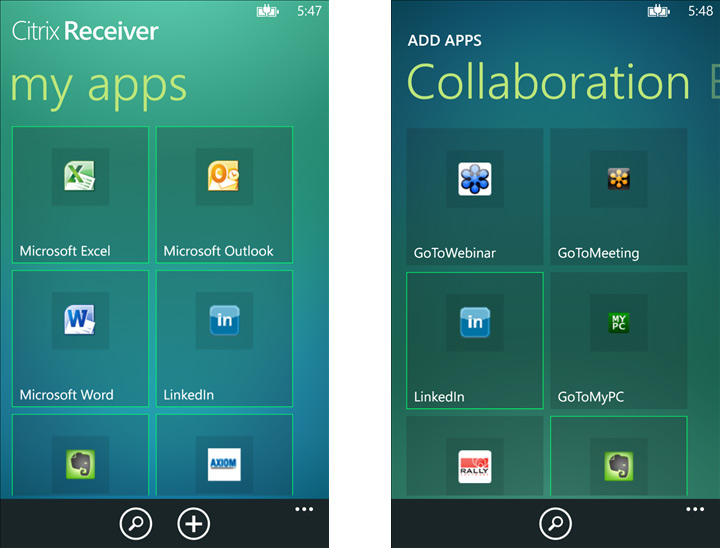 Citrix Receiver for Windows Phone 8 now available, get your