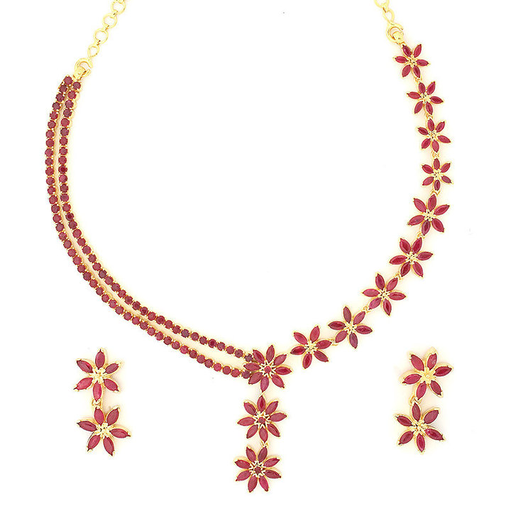 Beauty: Beautiful Ruby Necklace Design