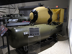 Fat Man and Little Boy Atomic Bombs