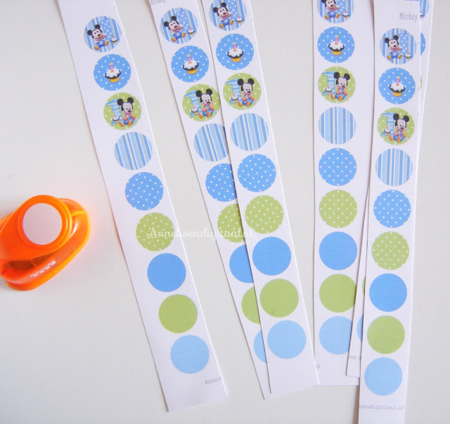 DIY confetti, free printable Mickey Mouse, Mickey Mouse confetti, confetti zelf maken