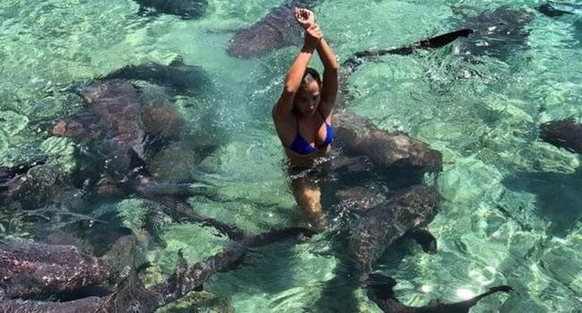 Καρχαρίας δάγκωσε μοντέλο στις Μπαχάμες [εικόνες]