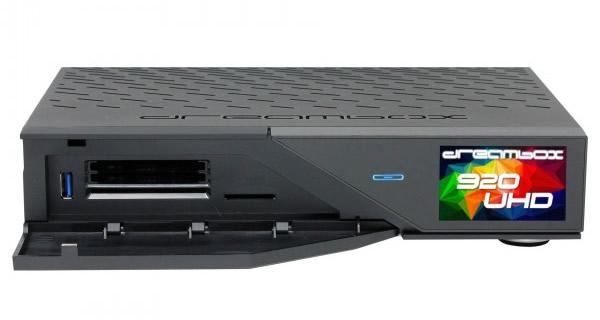 The new Dreambox DM 920 UHD (2x FBC Cable Tuner) - mysatbox tv