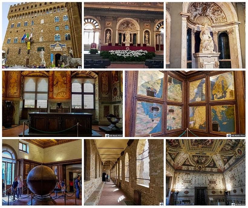 Palácio Vecchio - Diário de bordo: 2 dias em Florença