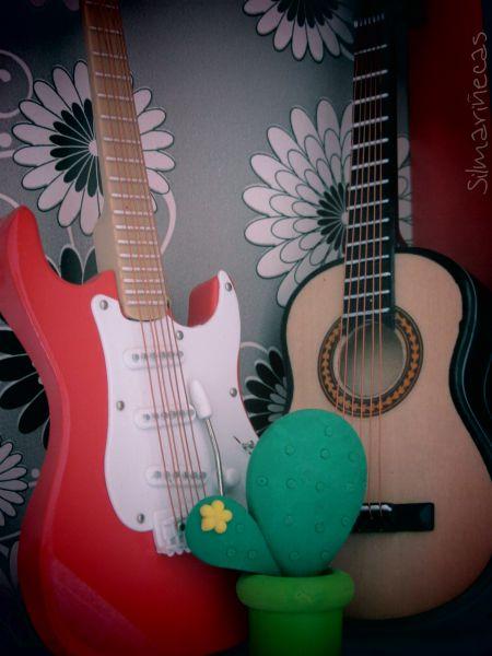 réplicas de guitarras