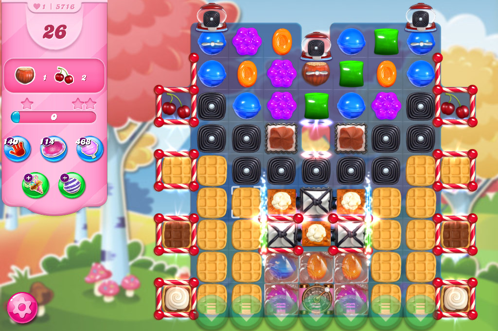 Candy Crush Saga level 5716