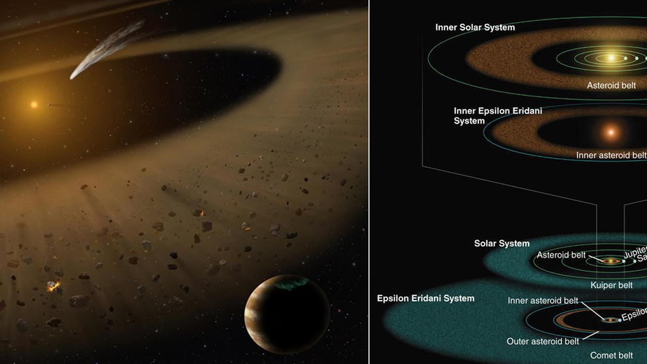 Descubren un «joven Sistema Solar» a 10 años luz del nuestro