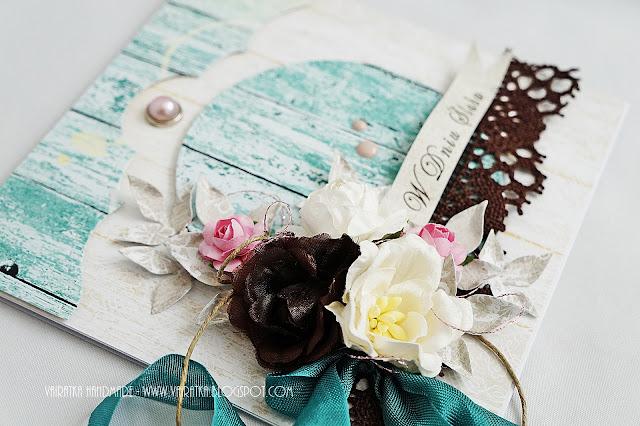 Kartka ślubna handmade