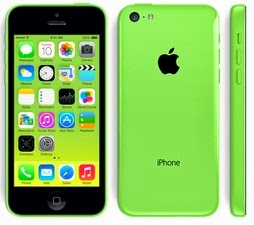 Apple iPhone 5c Hijau