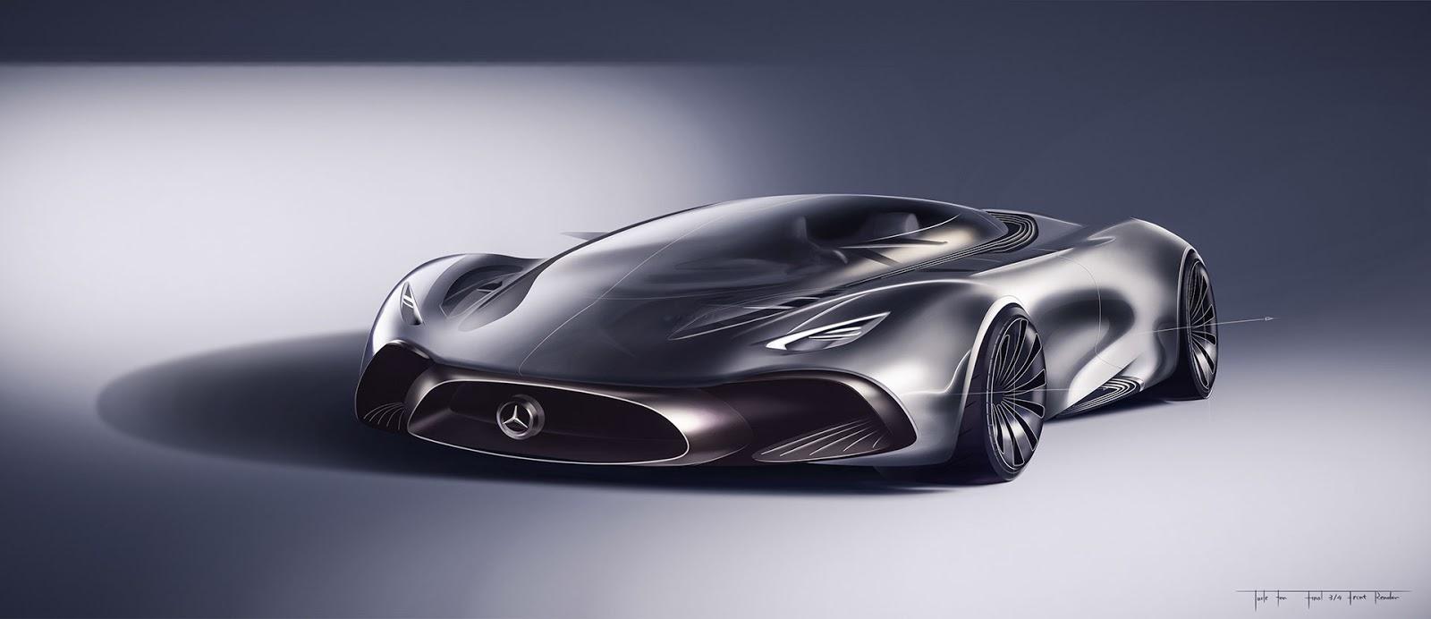 Designer's Take On A Mercedes Hybrid Supercar Looks ...