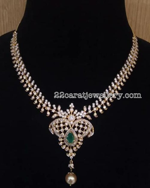6 Lakhs Pretty Diamond Set