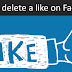 How to Remove Facebook Like