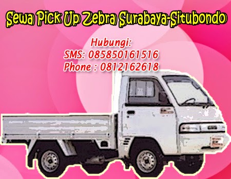 Rental-Sewa Pick Up Zebra Surabaya-Situbondo