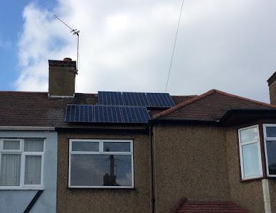 solar panels in Barkingside homes