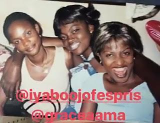 Funke Akindele shares Throwback photo of her birthday celebration in Unilag