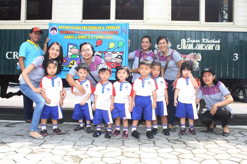 Outing Class KB Kristen Kalam Kudus Surakarta April 2017