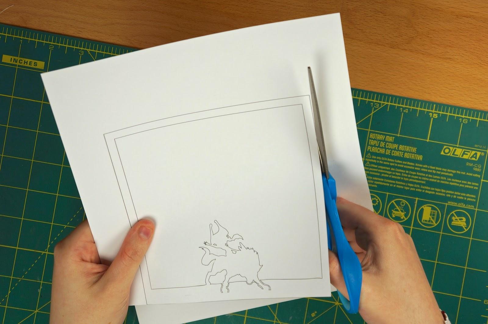 otaku crafts paper lightboxes zelda studio ghibli more