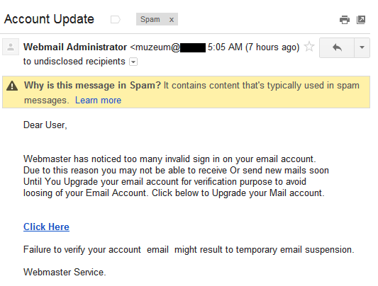 How to Detect a Phishing Email: An Example