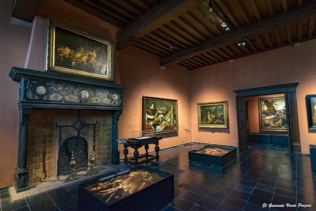 Interior Snyders & Rockox Huis - Amberes, por El Guisante Verde Project