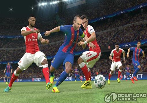 لعبة بيس Pro Evolution Soccer 2017 للكمبيوتر