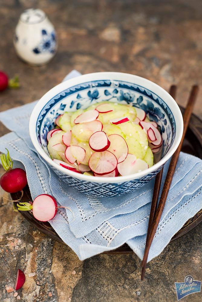 Surówka z marynowanych warzyw