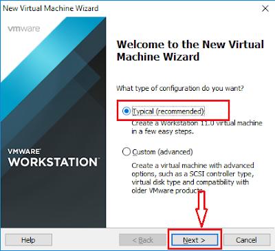 Tạo máy ảo với VMware Workstation - H02