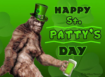 Happy St Patty's Day Bigfoot