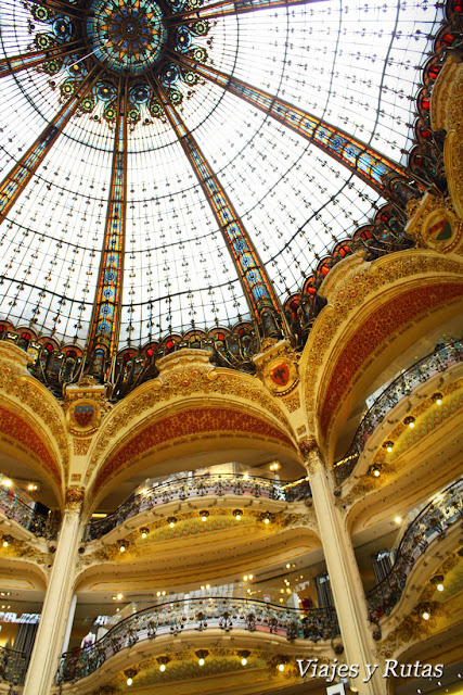 Galerías Lafayette, Paris