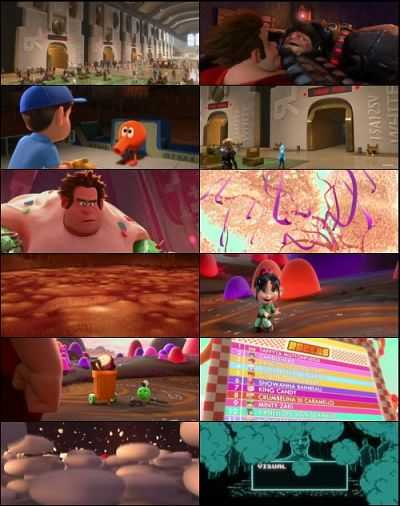 Wreck It Ralph (2012) Dual Audio 300mb BluRay 480p