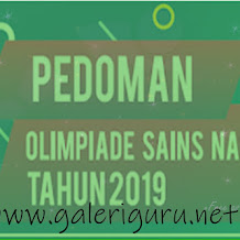 Download Buku Pedoman OSN SMA 2019 Terbaru ~ Galeri Guru
