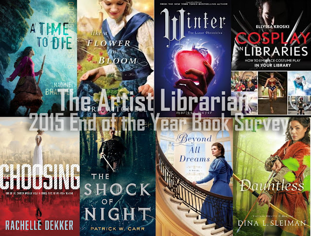 @ArtistLibraryan's best reads and blogging in 2015: End of the Year Book Survey