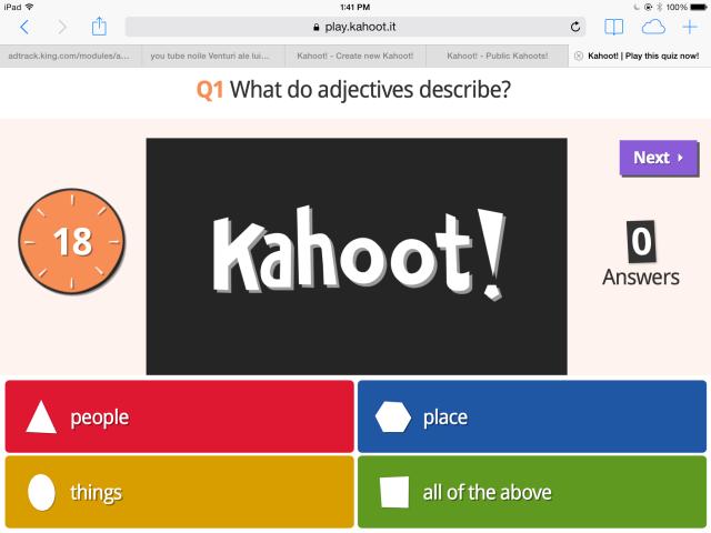 ITC: Kahoot!