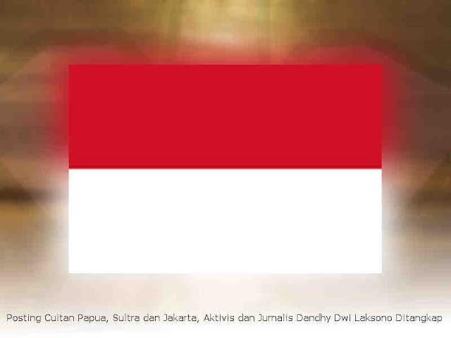 Posting Cuitan Papua, Sultra dan Jakarta, Aktivis dan Jurnalis Dandhy Dwi Laksono Ditangkap