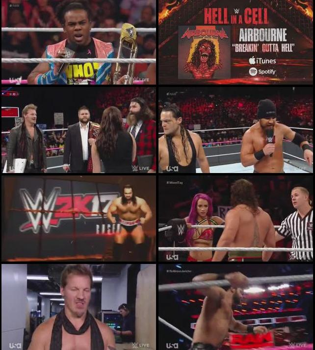 WWE Monday Night Raw 10 Oct 2016 HDTV 480p