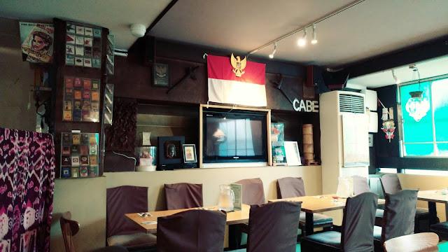 Restoran Cabe dekat KBRI Tokyo