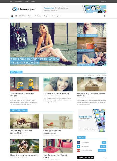 latest tagdiv Newspaper WordPress Theme download