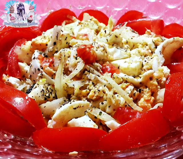 yumurta salatasi tarifi, yumurta salatasi, salata tarifleri