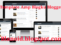 Template Blogku Amp Blogger