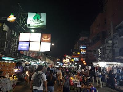 Khao San Road de noche