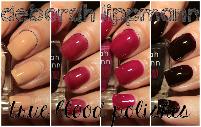Deborah Lippmann's True Blood-inspired polishes