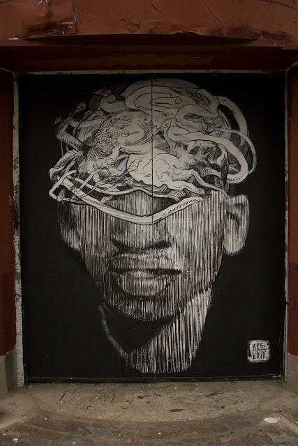 Street Art Collaboration By Axel Void And LNY On The Streets Of New York City, USA. 7