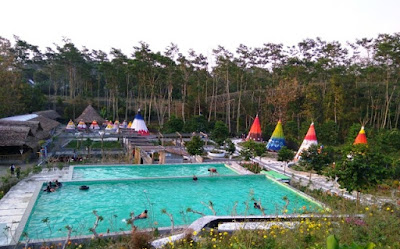 Kolam Renang Kampung Indian Kediri