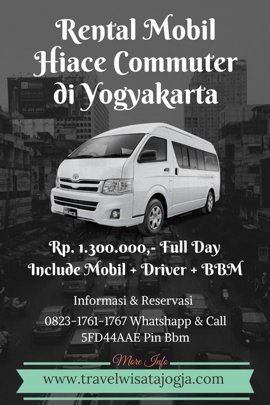 Rental Hiace Commuter di Yogyakarta