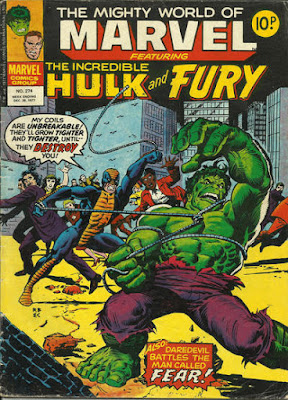 Mighty World of Marvel #274, Hulk vs the Constrictor