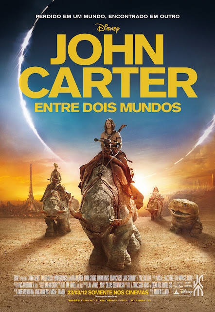 Resultado da #Promo: John Carter - Entre Dois Mundos. 9