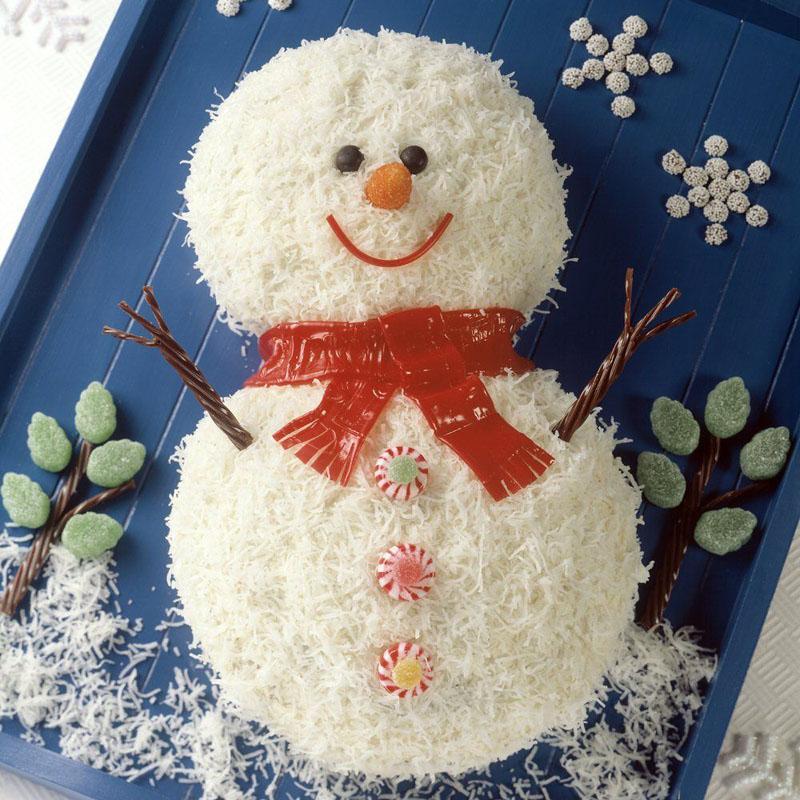 Snowman Celebration Cake