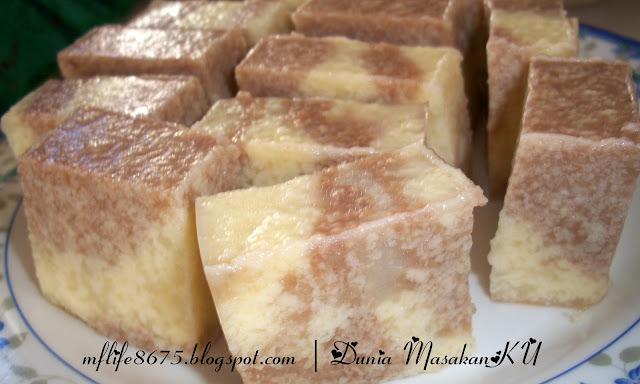 Dunia MasakanKu: Puding Roti Marble