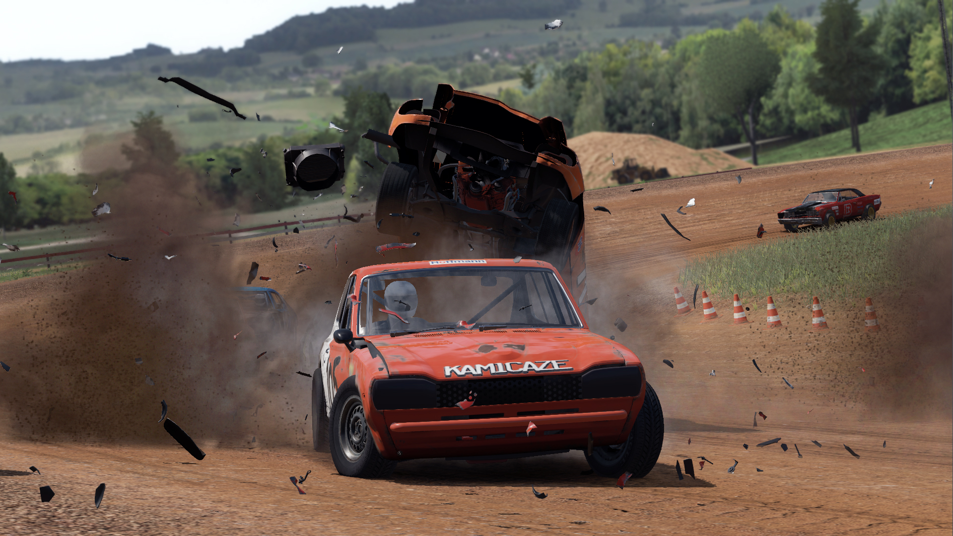 next car game wreckfest wallpapers read games review. Black Bedroom Furniture Sets. Home Design Ideas