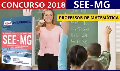 Apostila Concurso SEE-MG 2018 Professor de Matemática