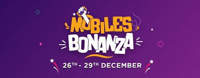 Flipkart 2018 Mobiles Bonanza Sale live from today